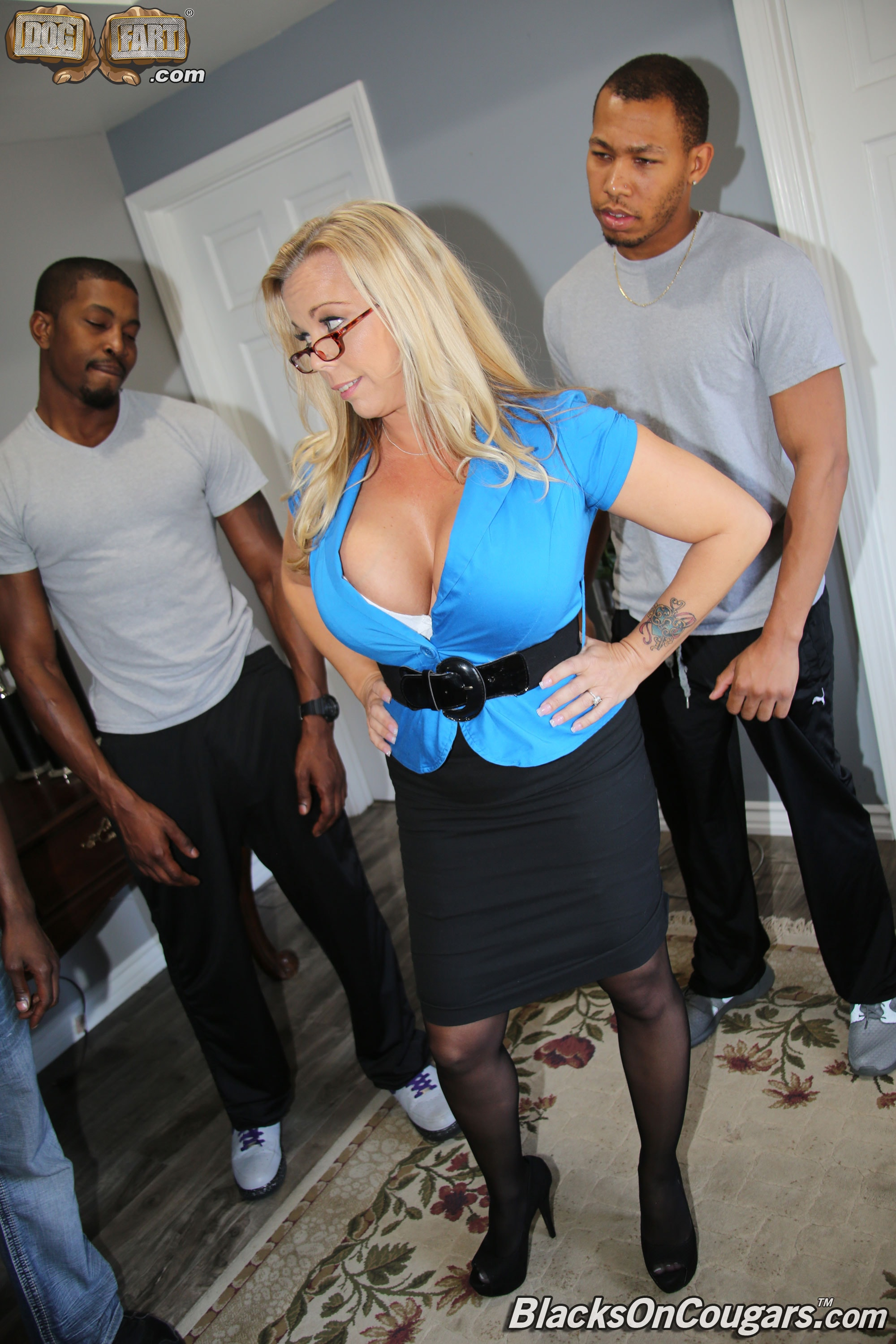 Dogfart 'Amber Lynn Bach - Blacks On Cougars' starring Amber Lynn Bach (photo 3)
