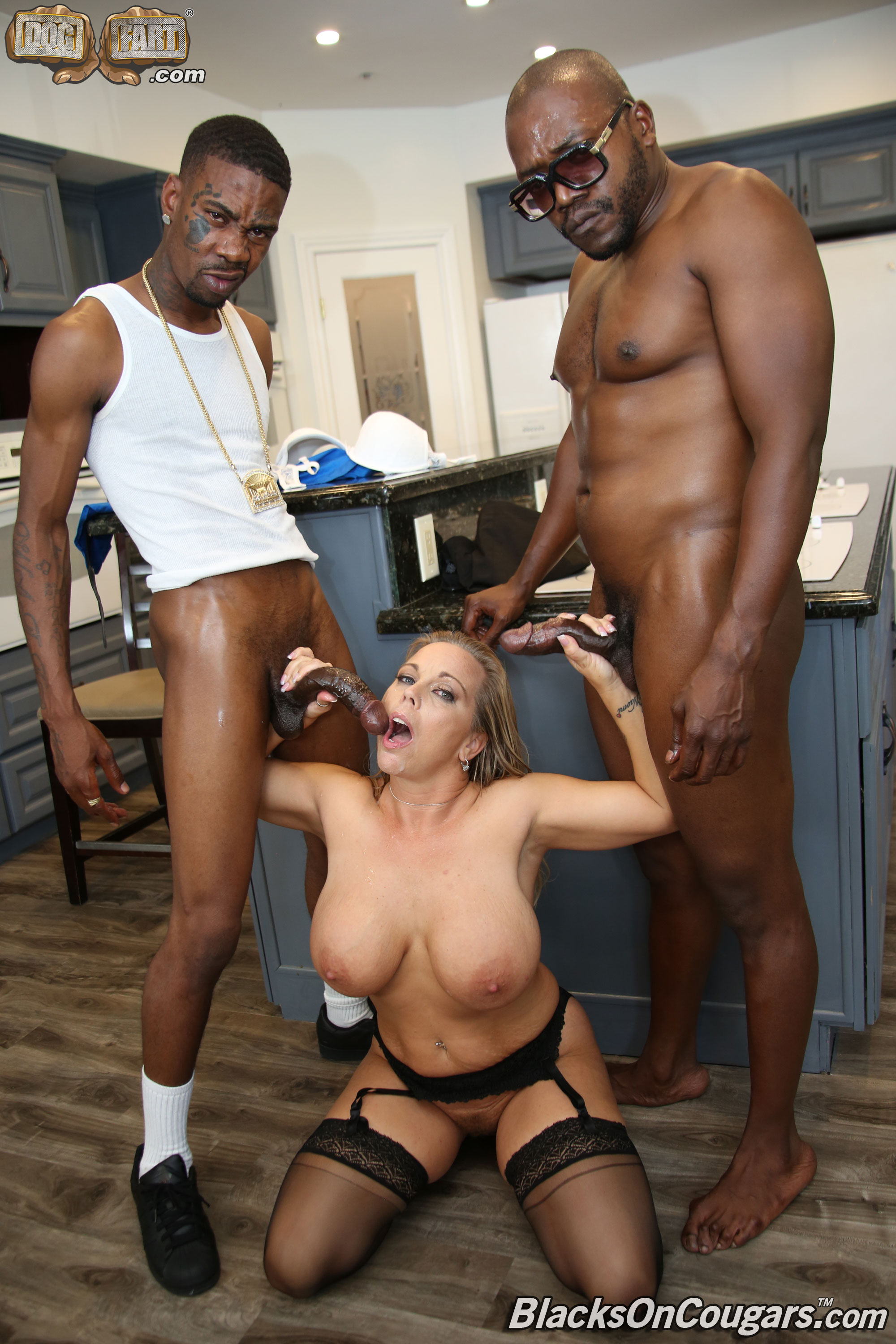 Dogfart 'Amber Lynn Bach - Blacks On Cougars' starring Amber Lynn Bach (photo 28)