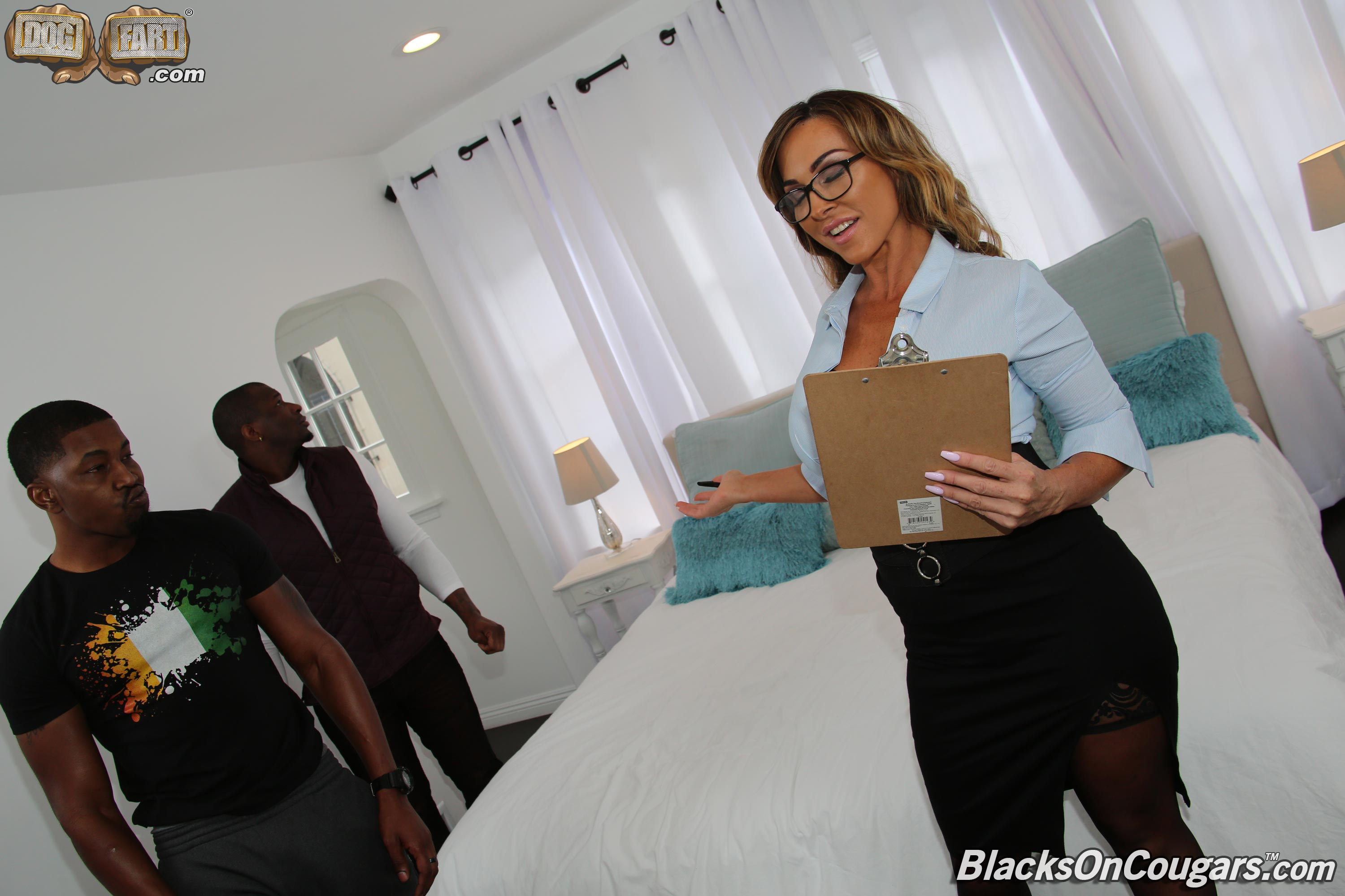 Dogfart 'Aubrey Black - Blacks On Cougars' starring Aubrey Black (photo 8)