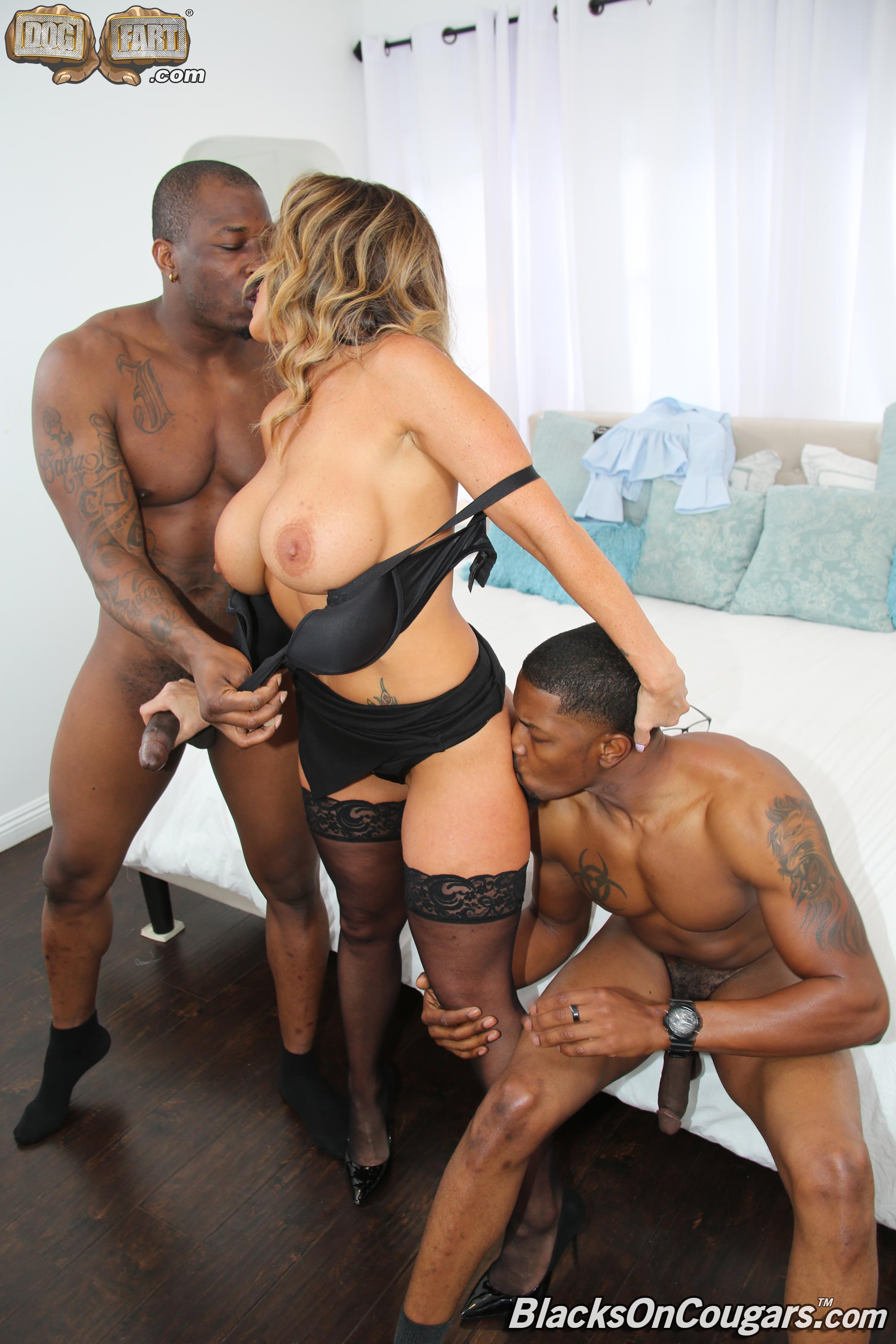 Dogfart 'Aubrey Black - Blacks On Cougars' starring Aubrey Black (photo 17)