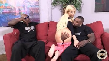 Bibi Noel - Blacks On Blondes - Scene 2