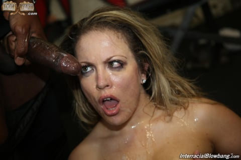Dogfart '- Interracial Blowbang' starring Carmen Valentina (Photo 27)