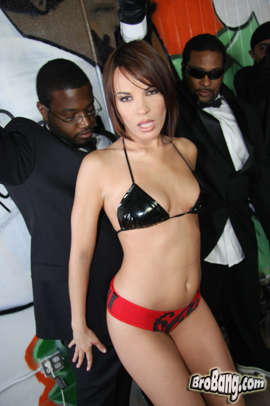 Dogfart 'Dana Dearmond - Interracial Blowbang' starring Dana Dearmond (photo 7)