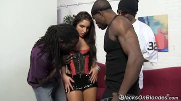 Giselle Leon - Blacks On Blondes