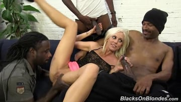 Kacey Villainess - Blacks On Blondes