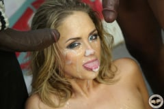 Katie Kox - Interracial Blowbang (Thumb 30)