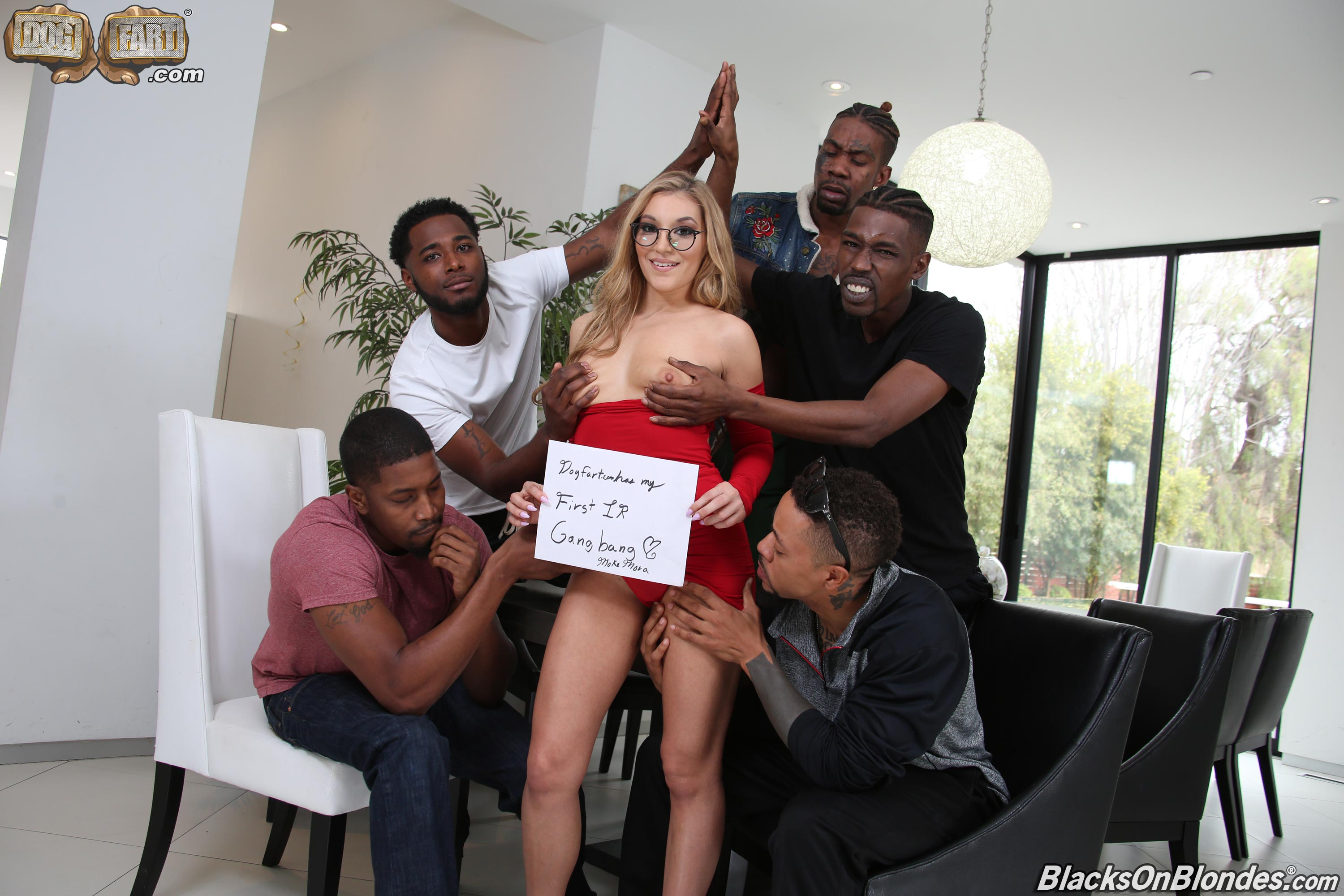 Dogfart 'Moka Mora - Blacks On Blondes' starring Moka Mora (photo 1)