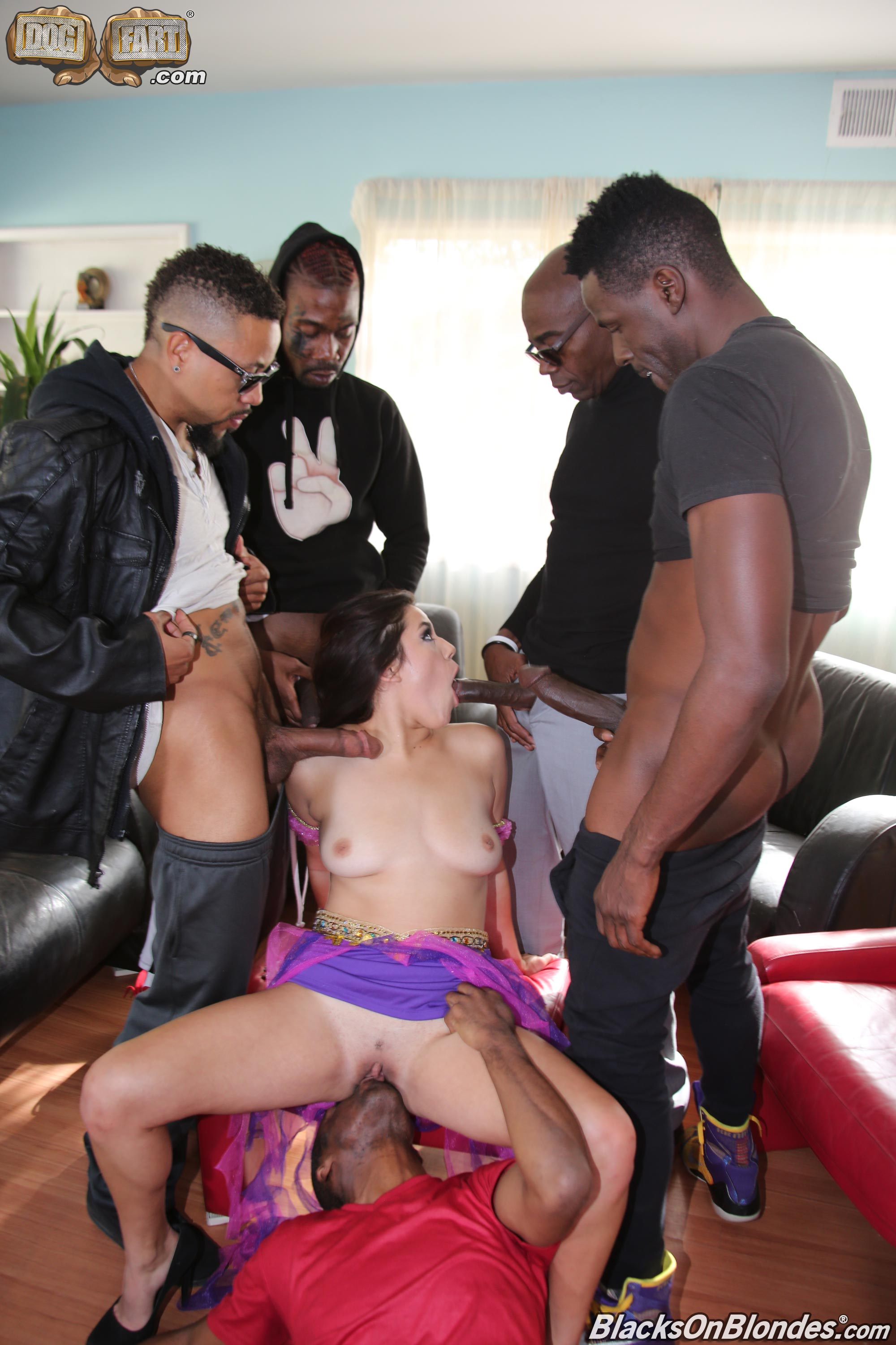 Dogfart 'Monica Sage - Blacks On Blondes' starring Monica Sage (photo 10)