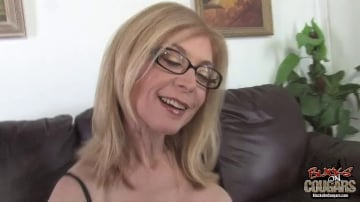 Nina Hartley - Blacks On Cougars