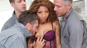 September Reign - We Fuck Black Girls - Scene 2
