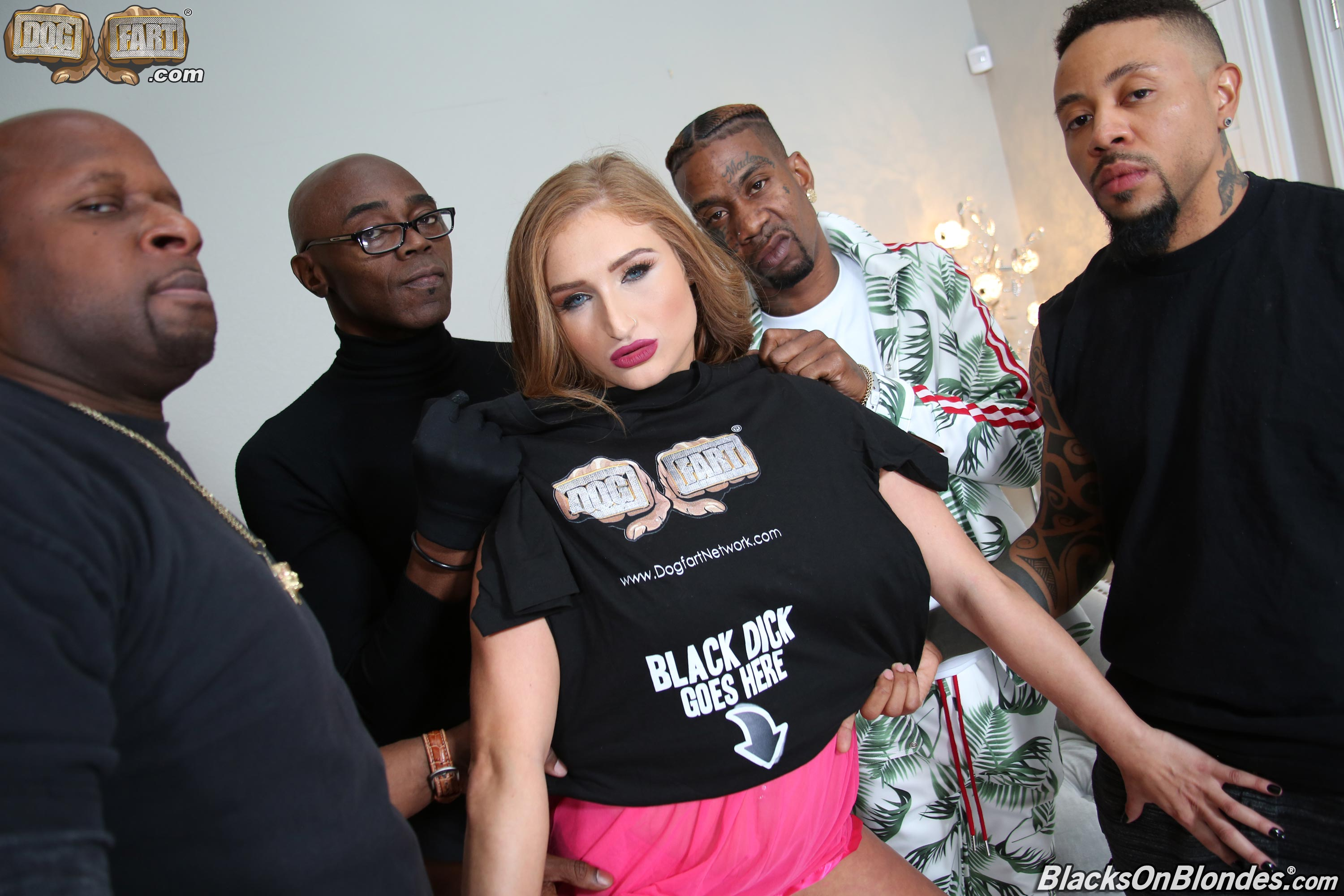 Dogfart 'Skylar Snow - Blacks On Blondes' starring Skylar Snow (photo 2)