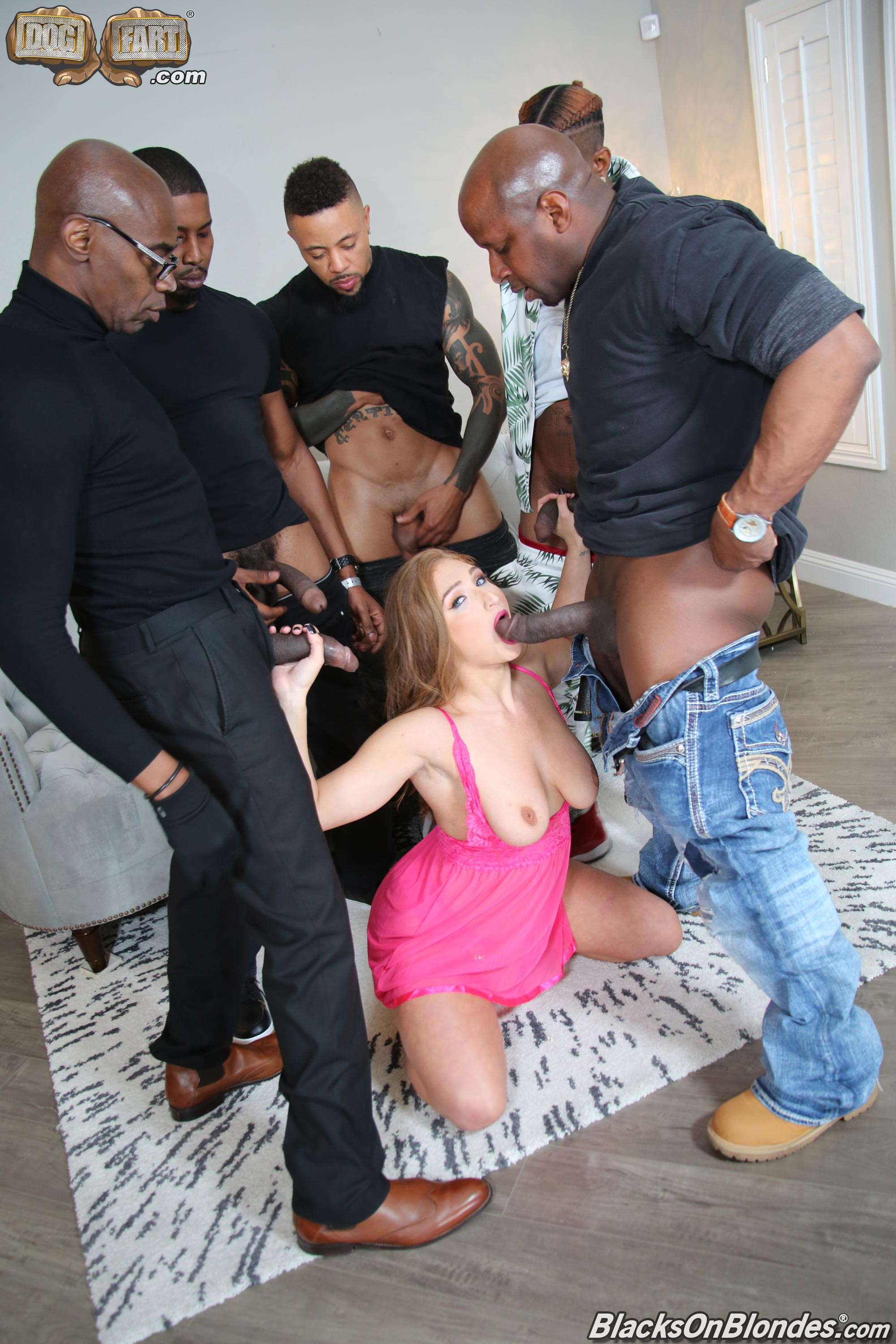 Dogfart 'Skylar Snow - Blacks On Blondes' starring Skylar Snow (photo 9)