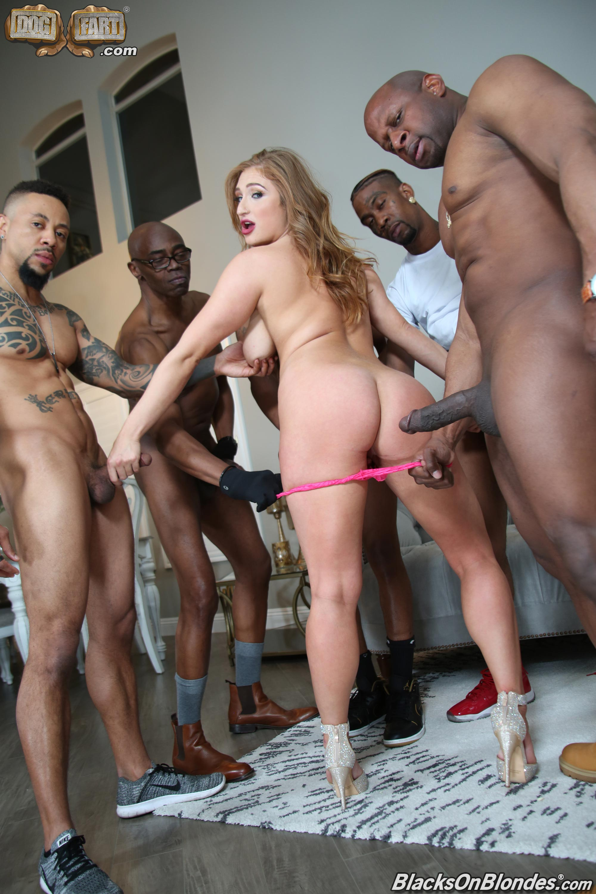 Dogfart 'Skylar Snow - Blacks On Blondes' starring Skylar Snow (photo 13)