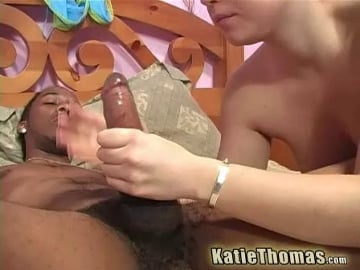 Two Huge Black Dicks - Katie Thomas