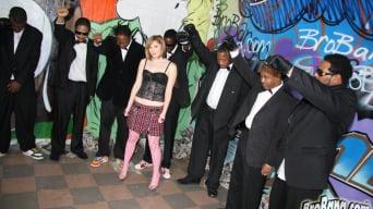 Allison Wyte in '- Interracial Blowbang'
