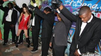 Amber Rayne in '- Interracial Blowbang'