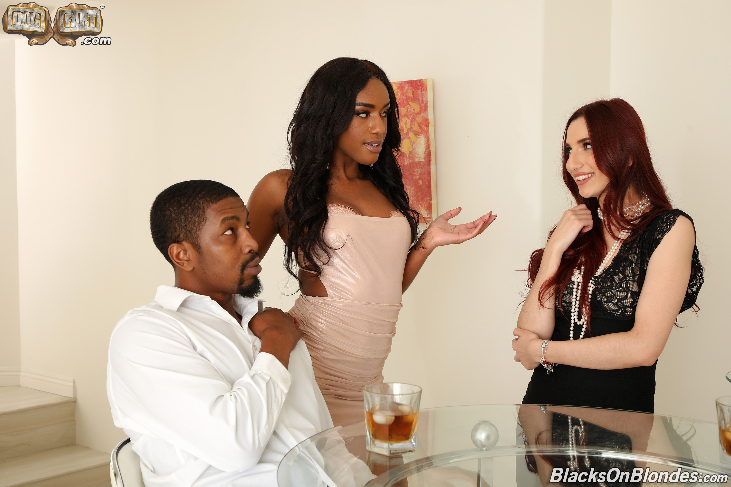Dogfart 'and April Snow - Blacks On Blondes' starring Ashley Aleigh (Photo 3)