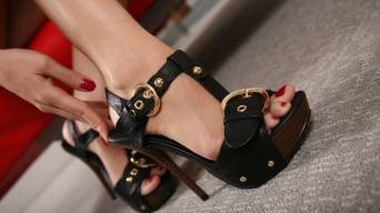 Avril Sun in '- Black Meat White Feet'