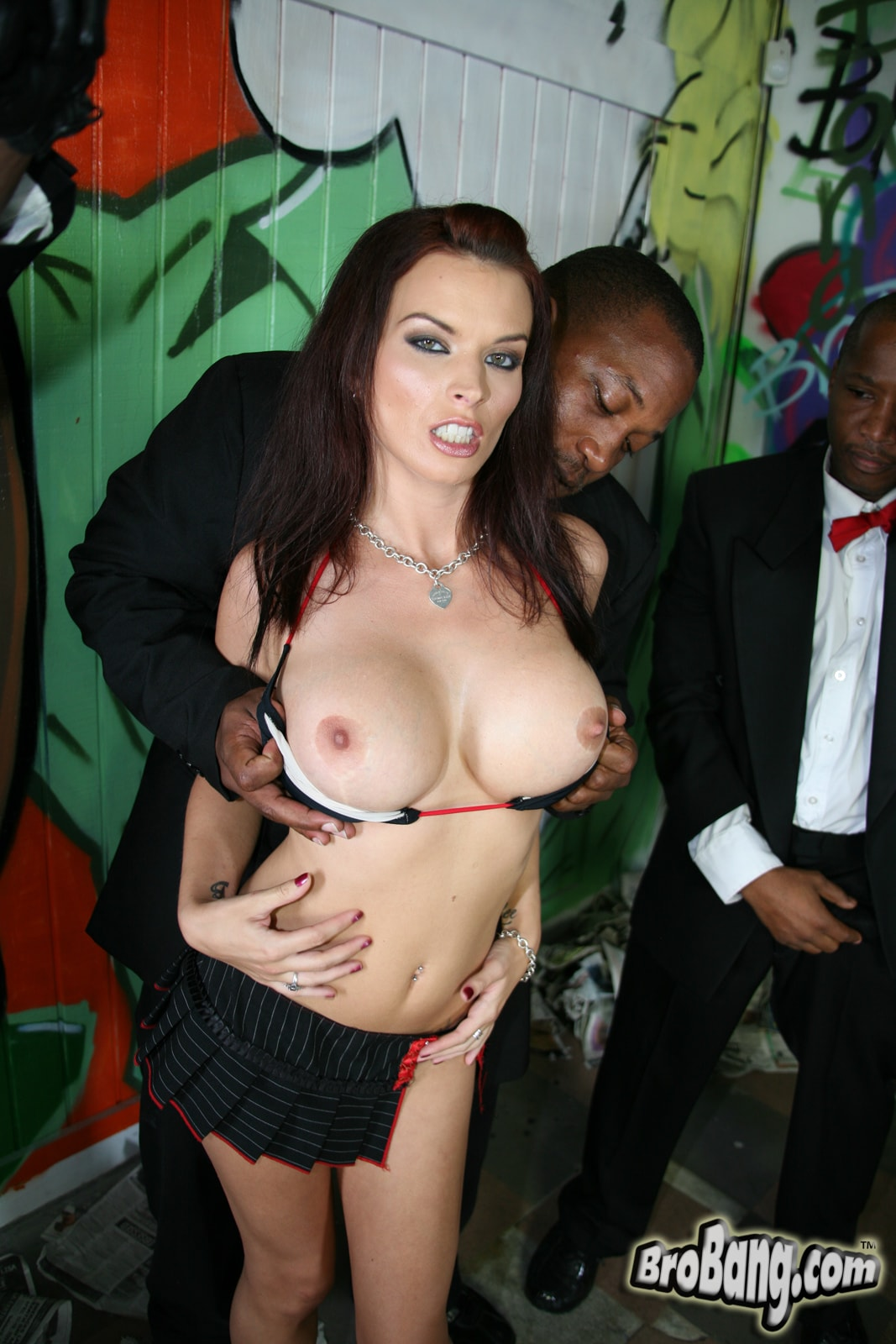 Dogfart 'Bailey Brooks - Interracial Blowbang' starring Bailey Brooks (photo 8)