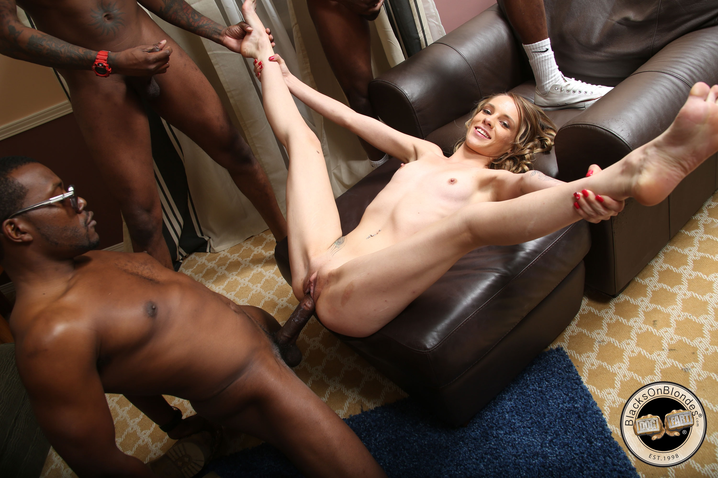Teen forced big black dick