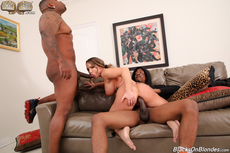 Dogfart '- Blacks On Blondes - Scene 2' starring Cali Carter (Photo 22)