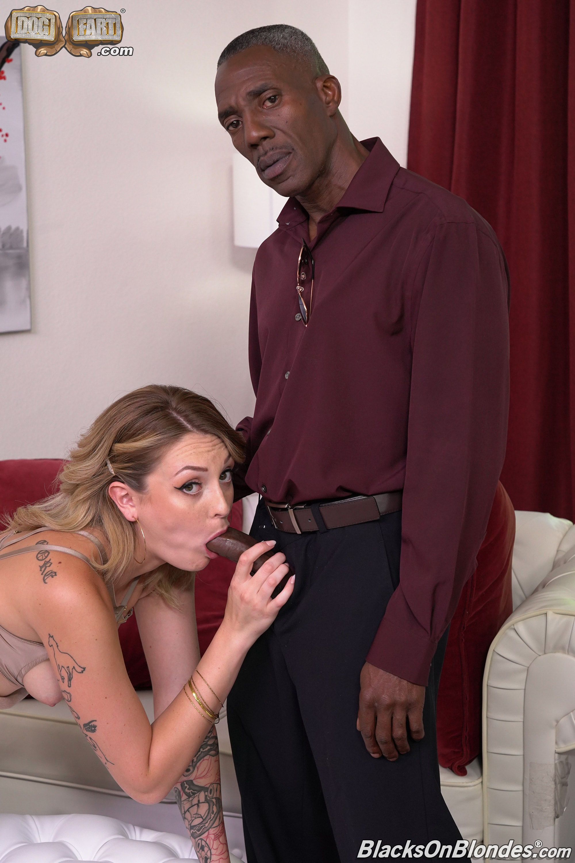 Dogfart '- Blacks On Blondes - Scene 2' starring Charlotte Sins (Photo 14)