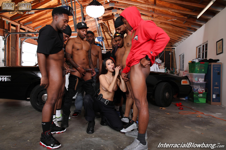 Dogfart '- Interracial Blowbang' starring Eliza Ibarra (Photo 15)