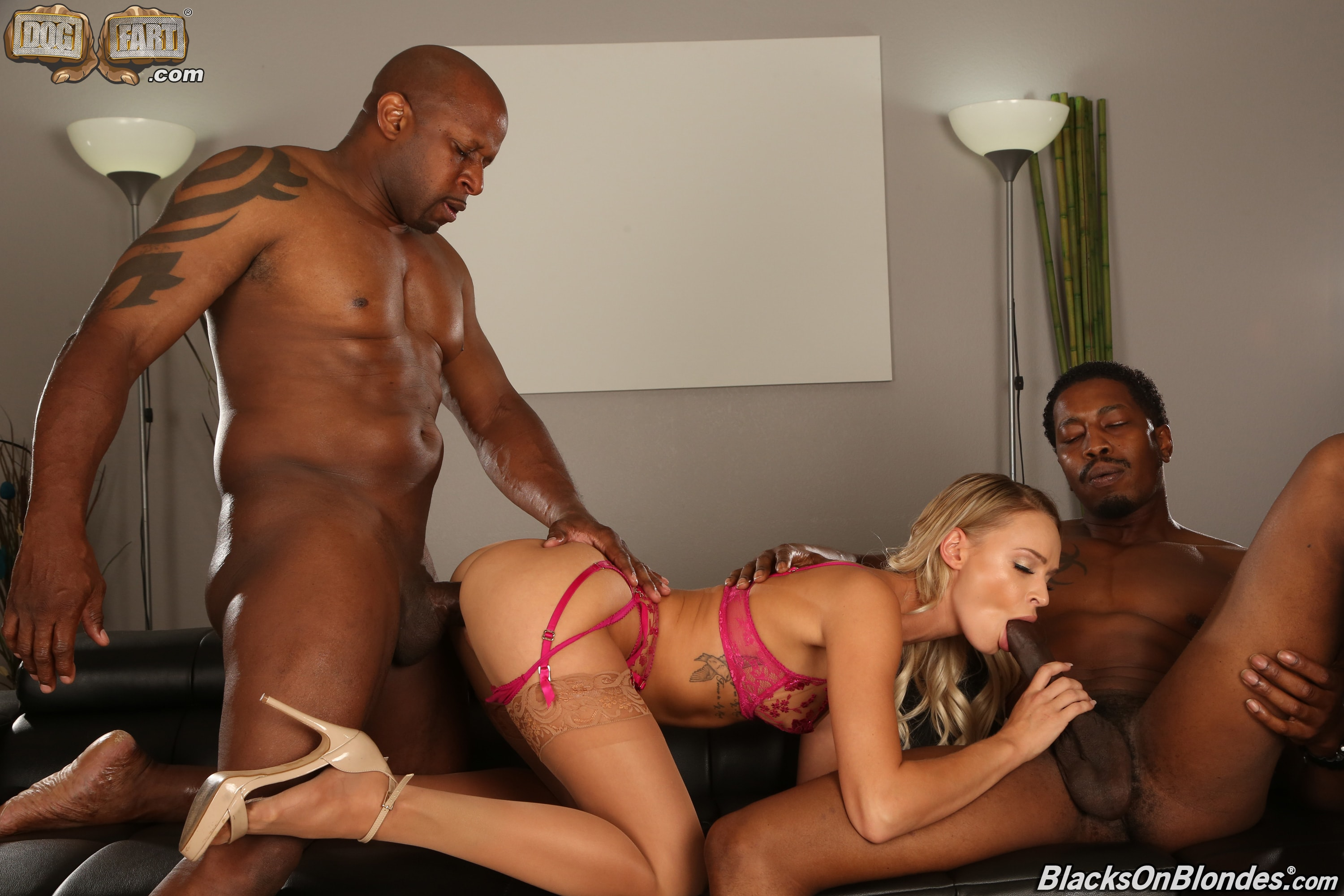 Dogfart '- Blacks On Blondes - Scene 3' starring Emma Hix (Photo 11)
