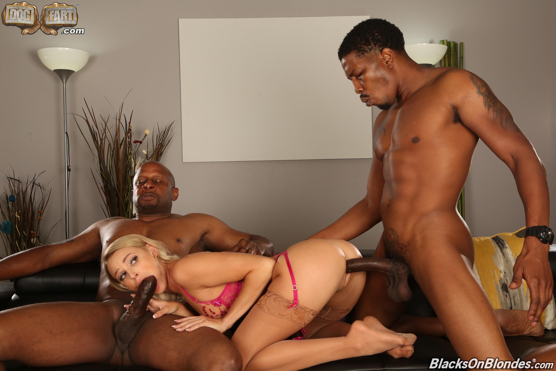 Dogfart '- Blacks On Blondes - Scene 3' starring Emma Hix (Photo 16)