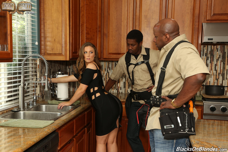 Dogfart '- Blacks On Blondes - Scene 2' starring Febby Twigs (Photo 1)