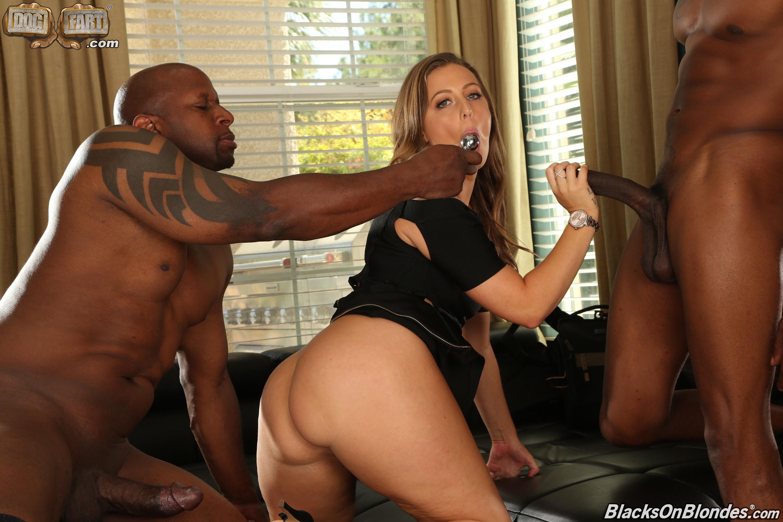 Dogfart '- Blacks On Blondes - Scene 2' starring Febby Twigs (Photo 7)