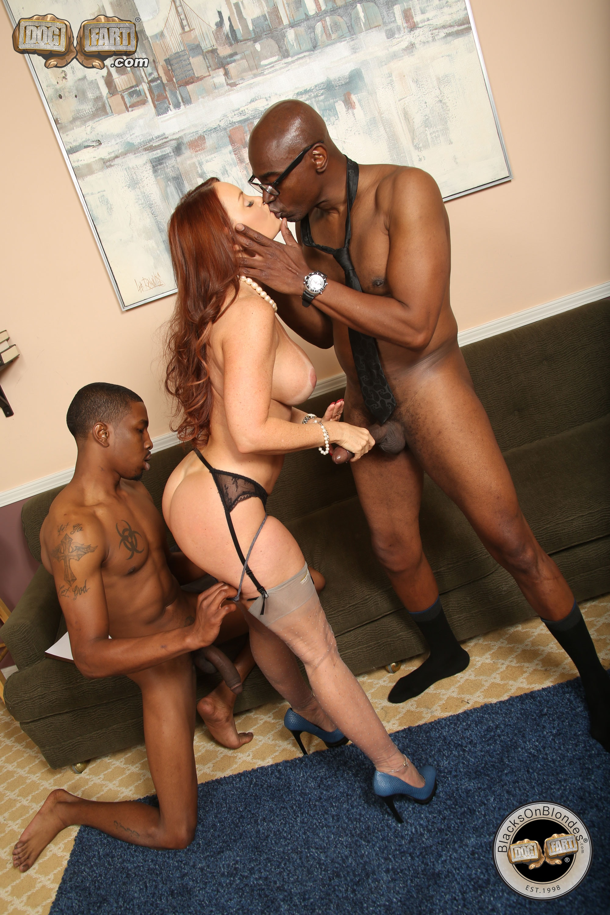 Black bachelor interracial porn misty