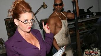 Janet Mason in '- Blacks On Cougars - Scene 2'