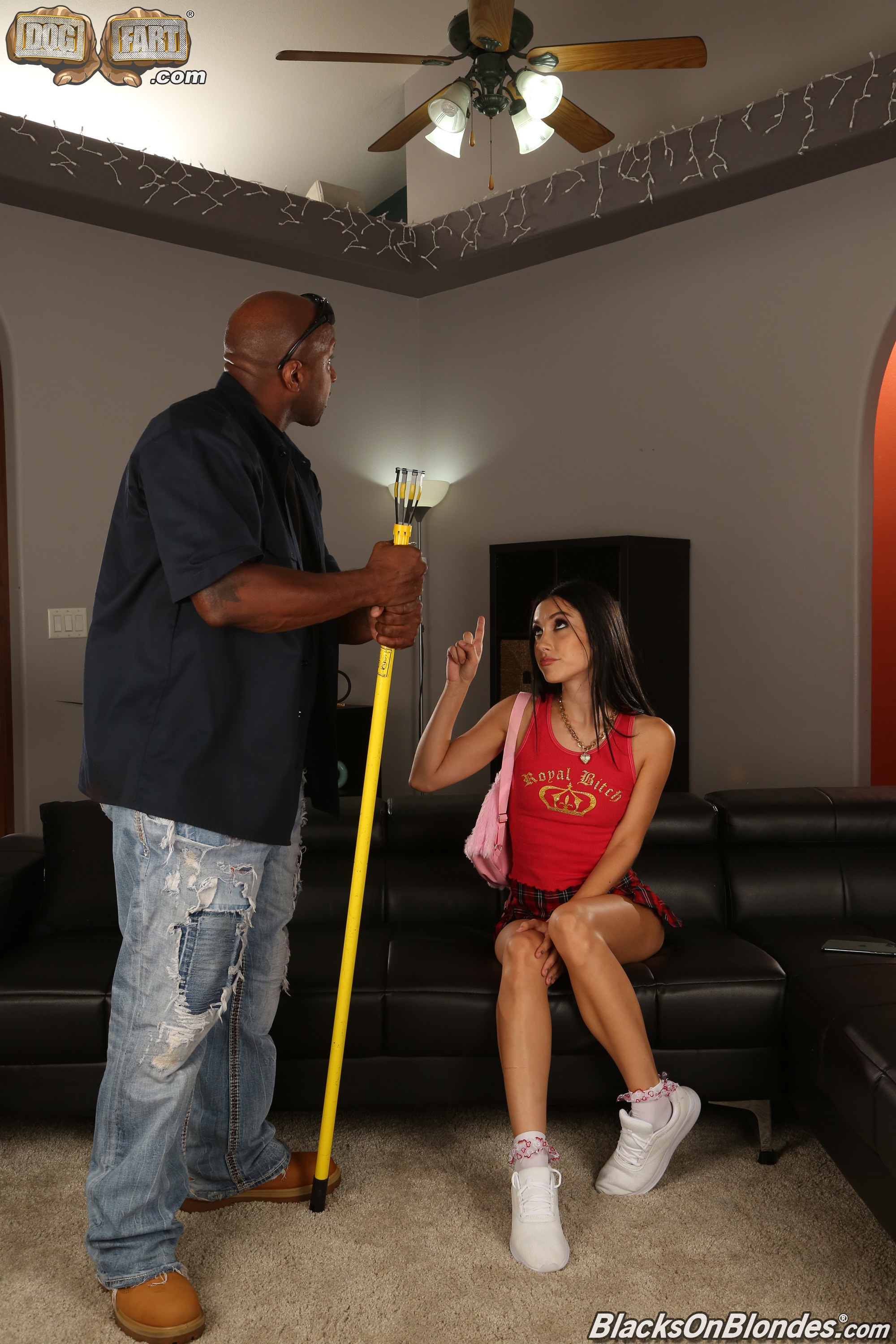 Dogfart '- Blacks On Blondes' starring Jazmin Luv (Photo 2)