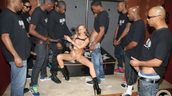Juelz Ventura in '- Interracial Blowbang'