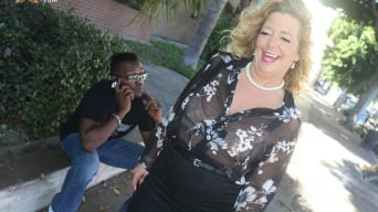 Karen Summer in '- Blacks On Cougars'