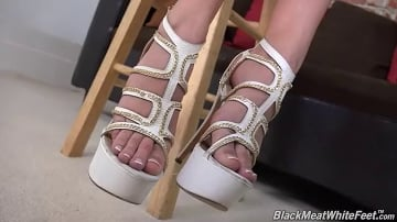 Kendra Cole - Black Meat White Feet