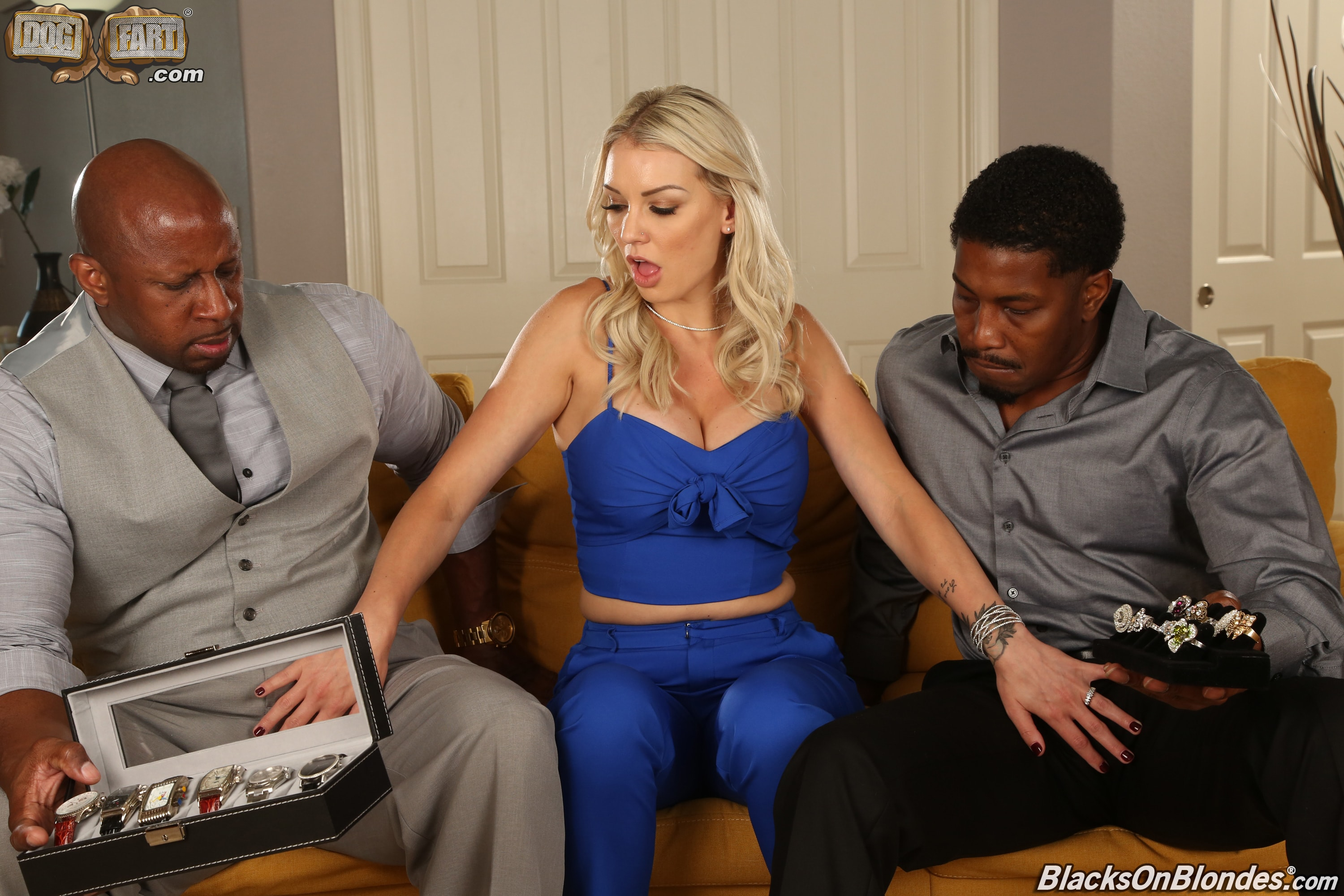 Dogfart '- Blacks On Blondes - Scene 2' starring Kenzie Taylor (Photo 2)