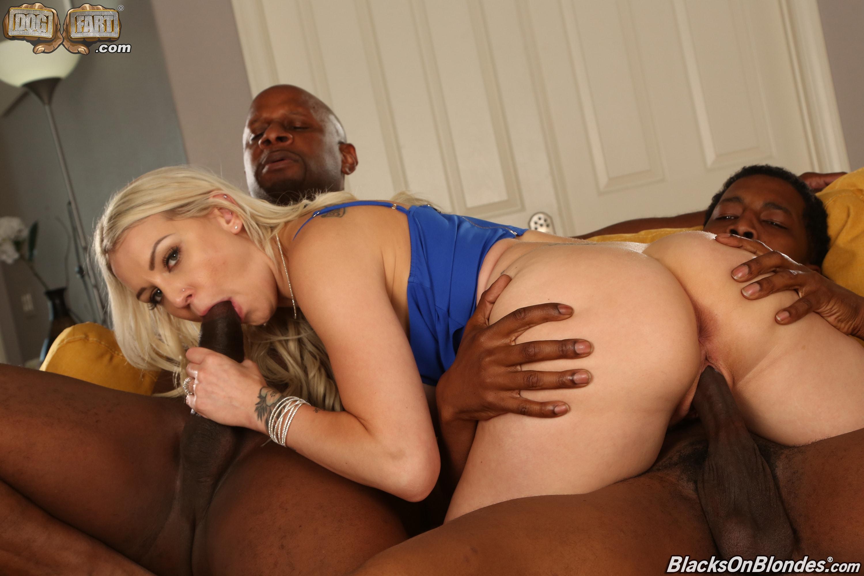 Dogfart '- Blacks On Blondes - Scene 2' starring Kenzie Taylor (Photo 11)