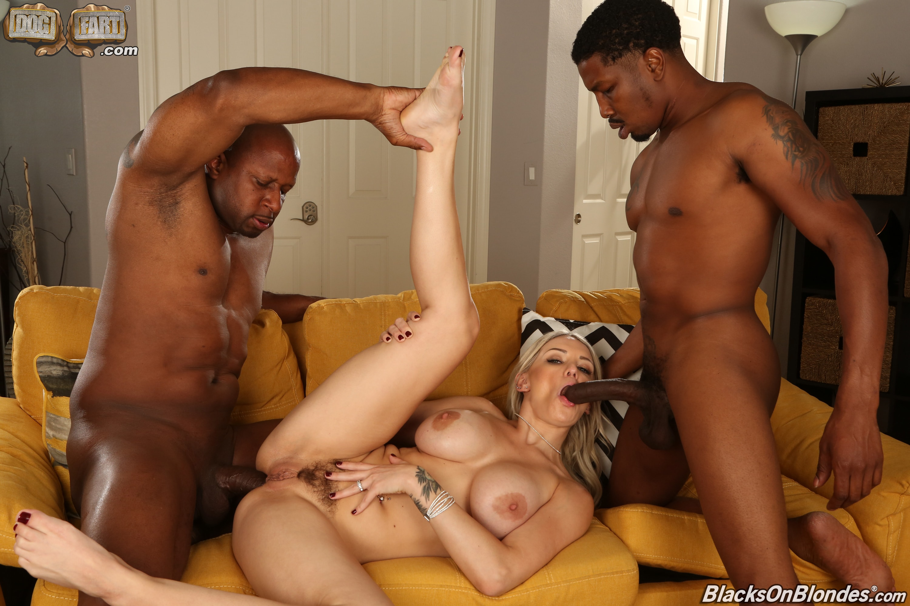 Dogfart '- Blacks On Blondes - Scene 2' starring Kenzie Taylor (Photo 15)