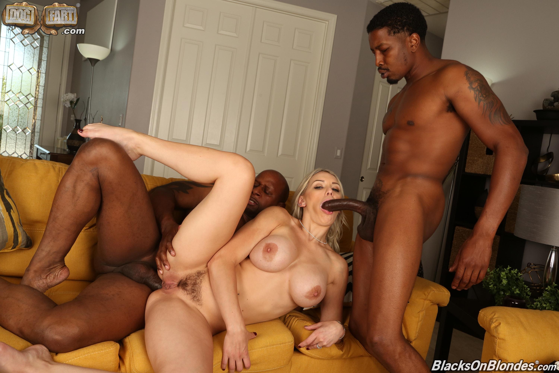 Dogfart '- Blacks On Blondes - Scene 2' starring Kenzie Taylor (Photo 21)