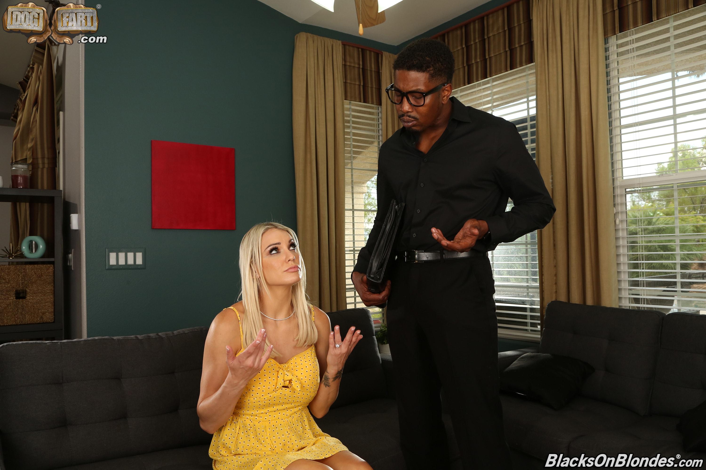 Dogfart '- Blacks On Blondes - Scene 3' starring Kenzie Taylor (Photo 1)