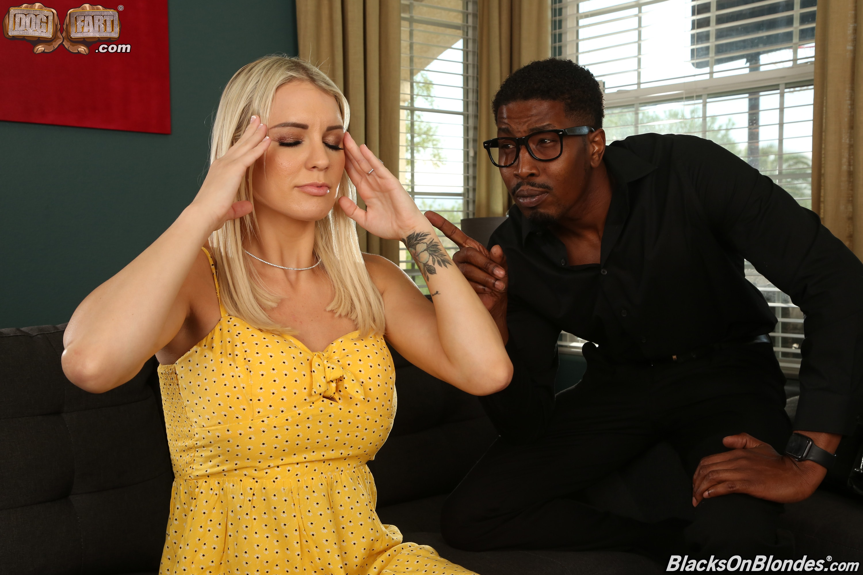 Dogfart '- Blacks On Blondes - Scene 3' starring Kenzie Taylor (Photo 2)