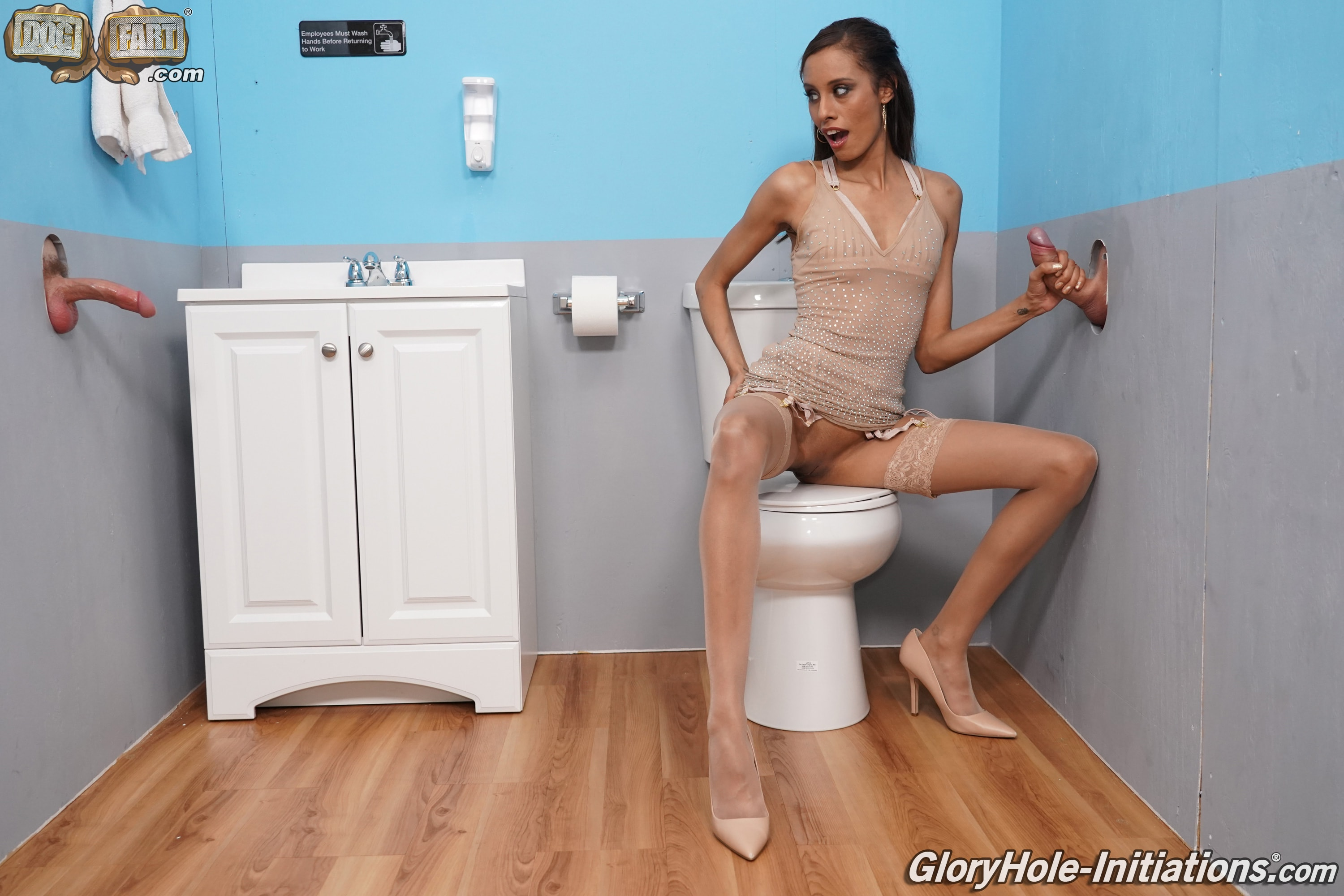 Dogfart '- Gloryhole Initiations' starring Kylie LeBeau (Photo 14)