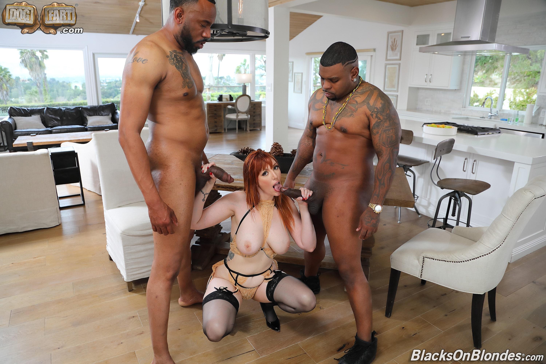 Dogfart '- Blacks On Blondes - Scene 2' starring Lauren Phillips (Photo 8)
