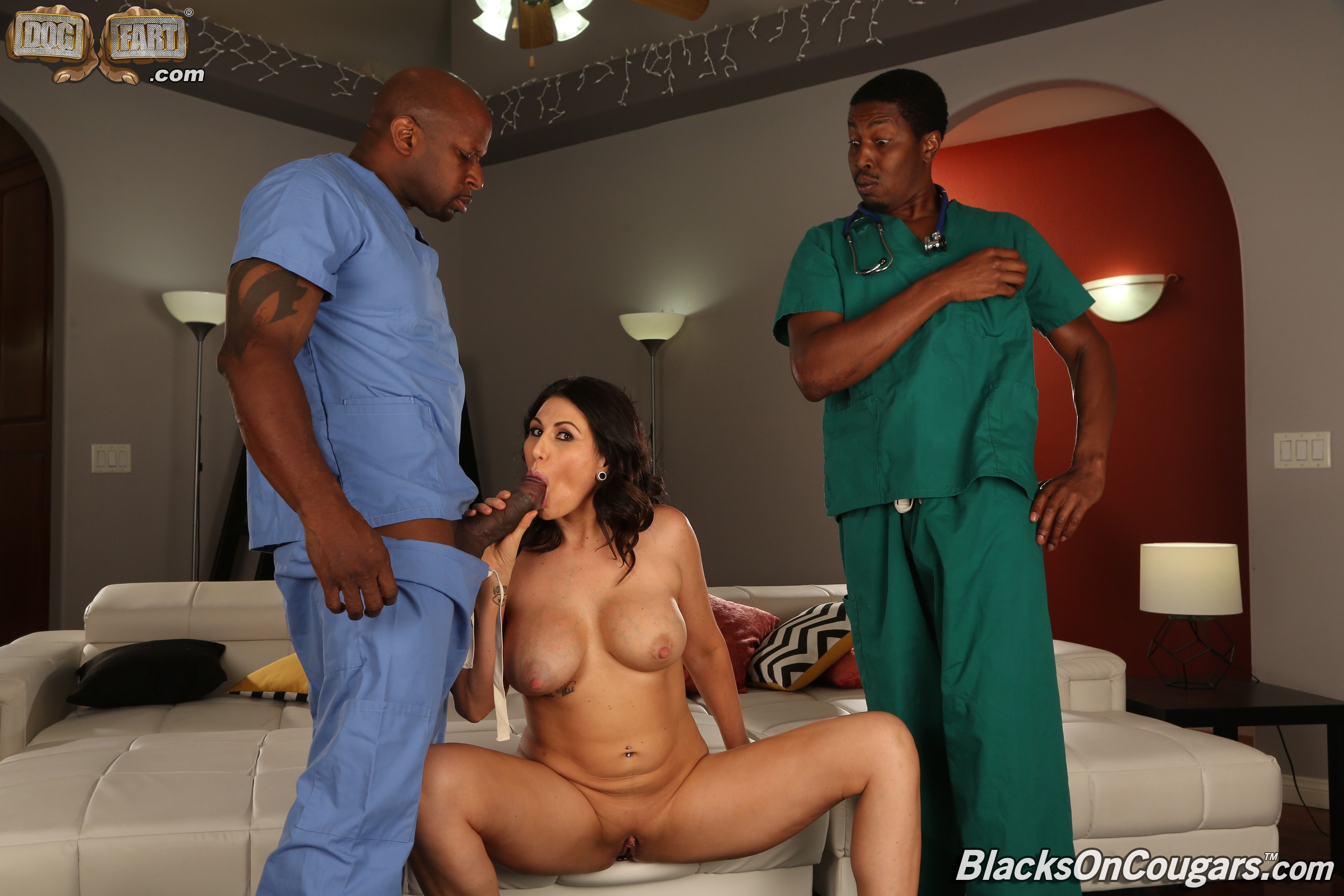 Dogfart '- Blacks On Cougars - Scene 2' starring Makayla Cox (Photo 5)