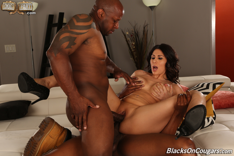 Dogfart '- Blacks On Cougars - Scene 2' starring Makayla Cox (Photo 20)