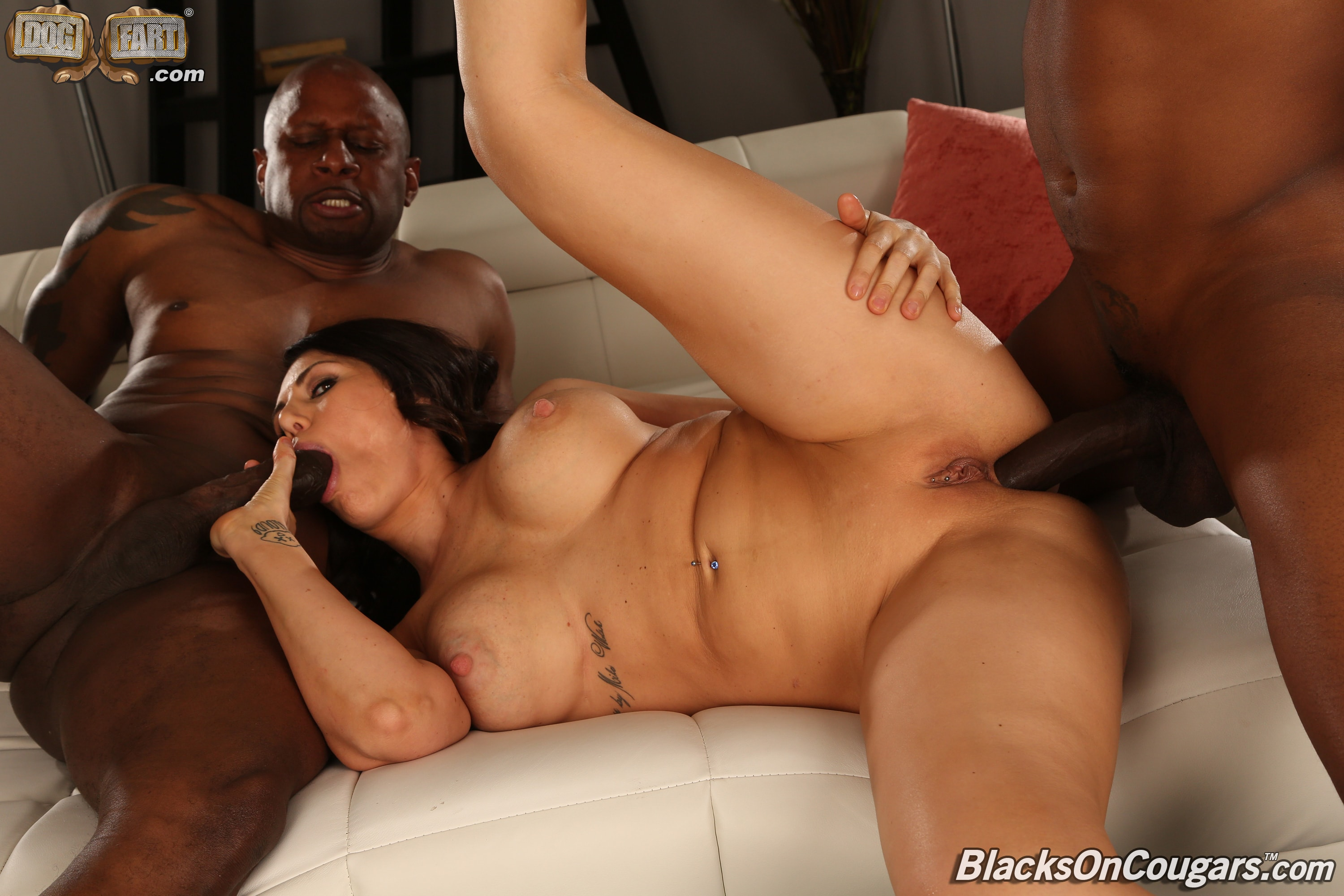 Dogfart '- Blacks On Cougars - Scene 2' starring Makayla Cox (Photo 24)