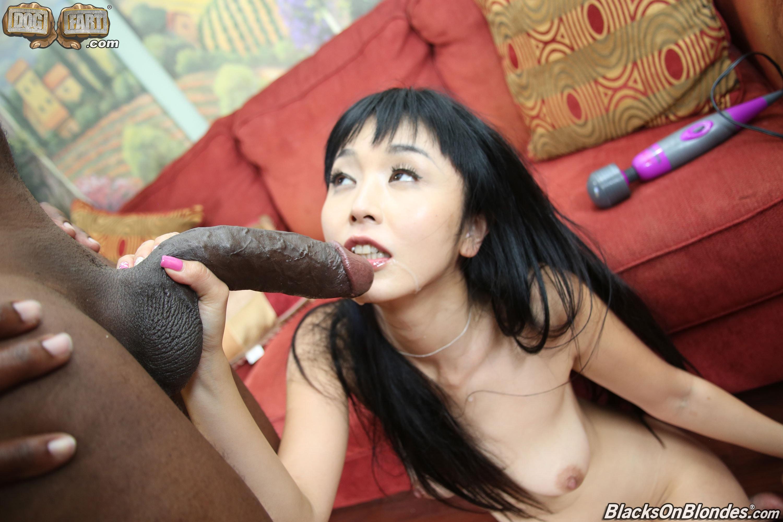 Asian girls and black men