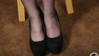 Miley May in '- Black Meat White Feet'
